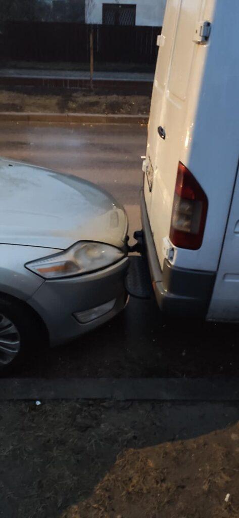 Fabijoniškių g. eismo įvykį sukėlusi vairuotoja bandė pasišalinti iš įvykio vietos