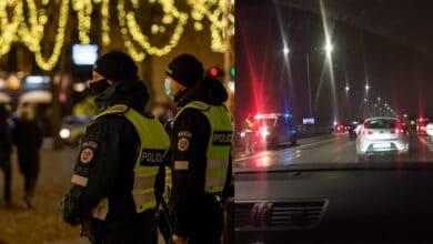 Naujųjų naktį eismo ribojimai ne tik tarp savivaldybių, bet ir jų viduje