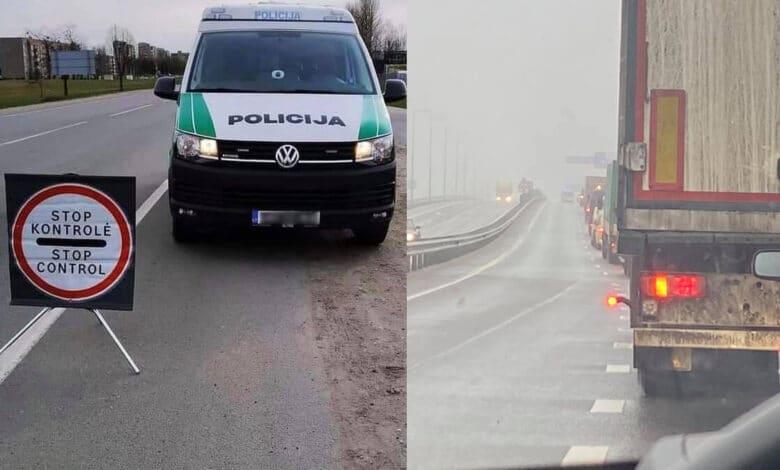 Policija informuoja apie eismo kontrolės pokyčius tarp savivaldybių ir perspėja dėl baudų