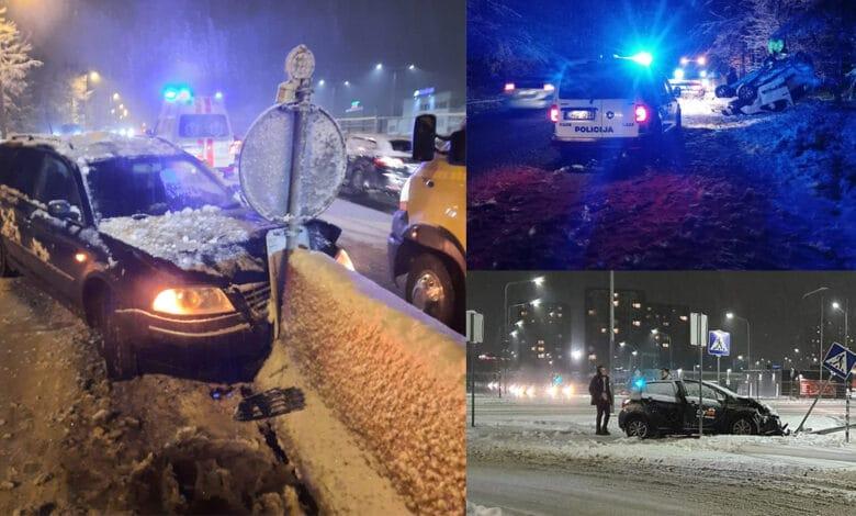 Penktadienis Vilniuje: avarijos, nukentėjęs vaikas, nuvirtęs medis ir kaltininko paieškos