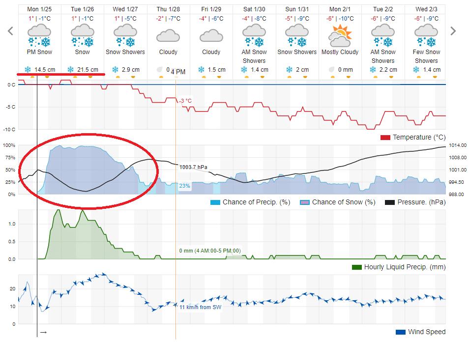 Orų prognozė