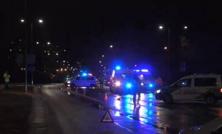Sostinėje žuvo partrenktas vyras neleistinoje vietoje bandęs pereiti gatvę