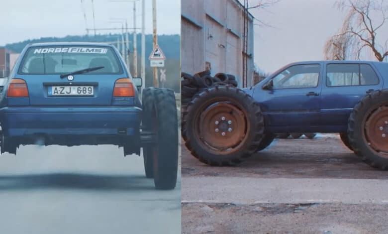 Žinomam video blogeriui už pasivažinėjimą modifikuotu automobiliu: bauda ir teisių atėmimas metams