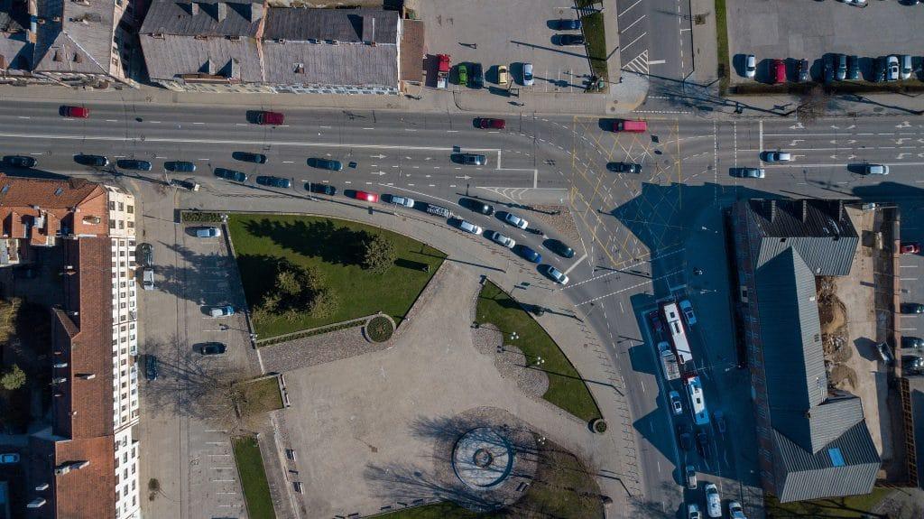Kauno kelininkai ruošia neeilinį išbandymą iki rugsėjo remontuos vieną pagrindinių transporto mazgų miesto centre