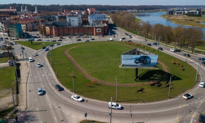 Kauno kelininkai ruošia neeilinį išbandymą iki rugsėjo remontuos vieną pagrindinių transporto mazgų miesto centre 3