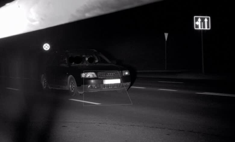 """Kauno mieste trikojis užfiksavo """"Audi"""" skriejantį 132km/h greičiu. Vairuotojas viršijo greitį daugiau nei du kartus."""