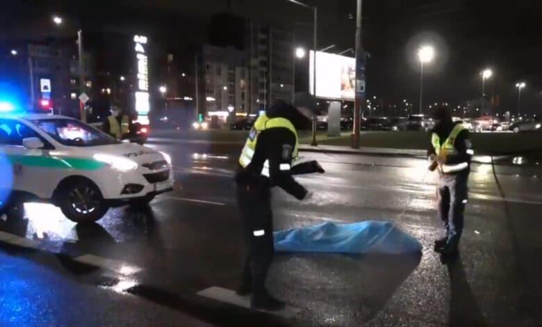 Vilniuje partrenktas per perėją bėgęs pėsčiasis žuvo vietoje