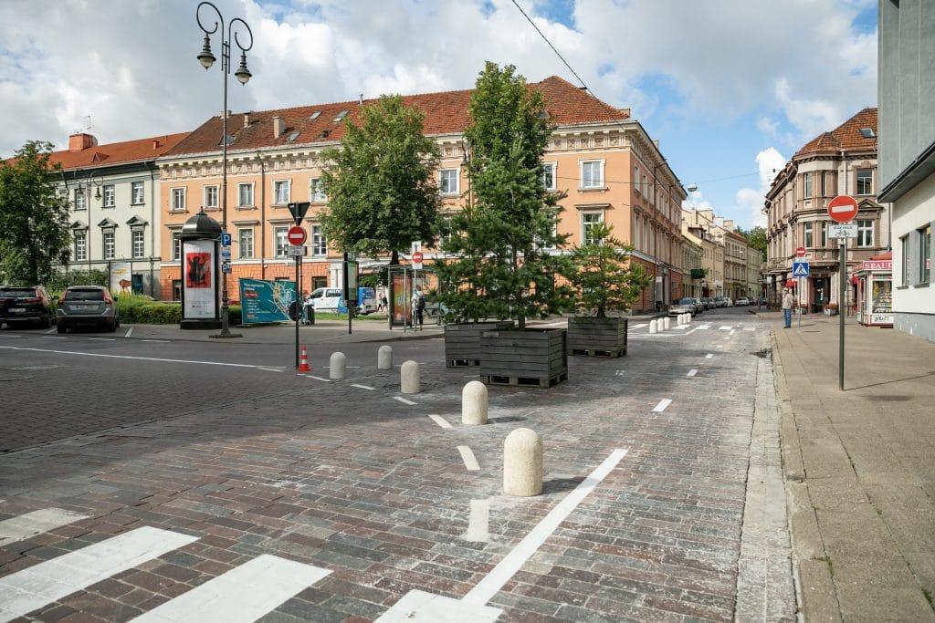 Vilniuje pradedamas antrasis kilpinio eismo organizavimo etapas