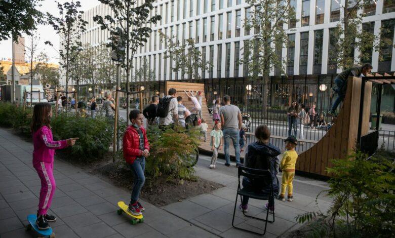 Ar parkavimo vietos Vilniaus senamiestyje gali būti naudojamos ne tik automobilių?