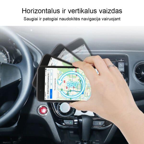 Automobilinis telefono laikiklis prailginamas su siurbtuku MATL-04