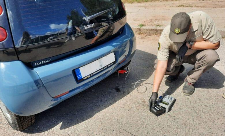 Didžiuosiuose miestuose buvo vykdoma automobilių taršos matavimo akcija