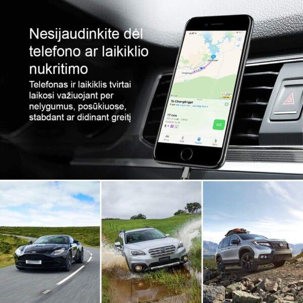 Magnetinis automobilinis telefono laikiklis MATL-01