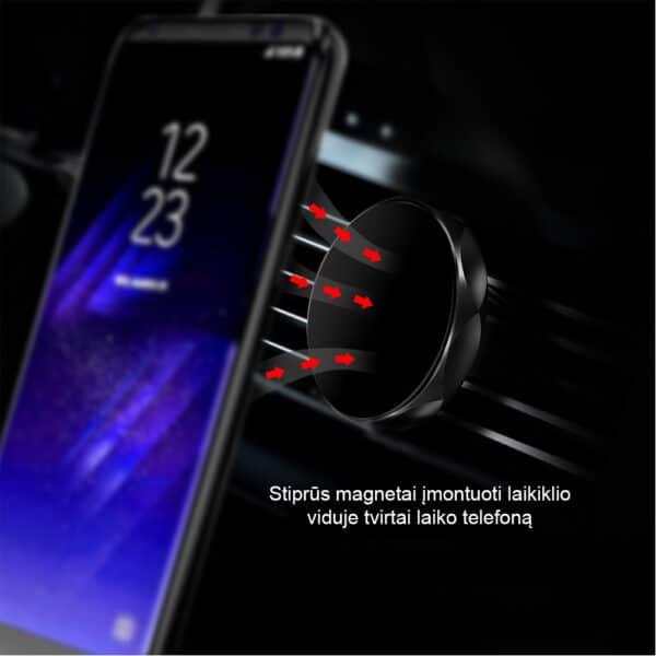 Magnetinis telefono laikiklis automobiliui MATL-02