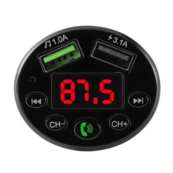 Bluetooth FM moduliatorius su krovimu FMMA-01
