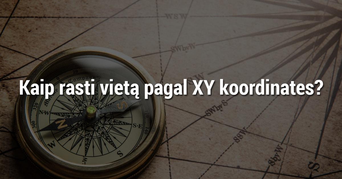 Kaip rasti trikojo vietą pagal XY koordinates? Paieška pagal XY koordinates. Koordinačių paieška.