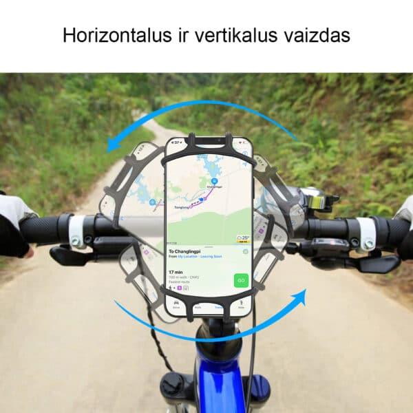 Telefono laikiklis dviračiui motociklui MATL-05