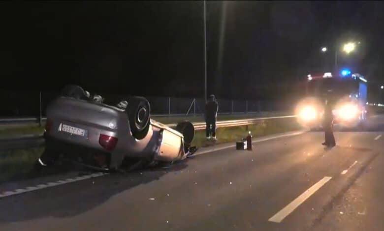 Per avariją Vilniaus rajone vairuotojui nutraukė ranką