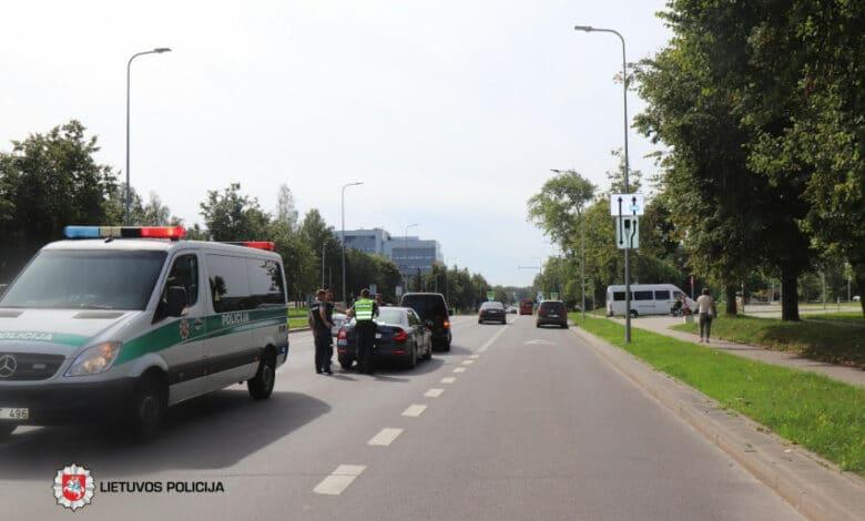 Pirmadienio eismo įvykiuose sužeista 16 žmonių