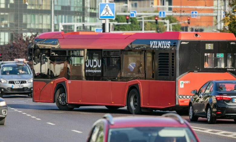 """""""Sostinės dienos 2021"""": kaip keisis eismas ir viešojo transporto judėjimas?"""