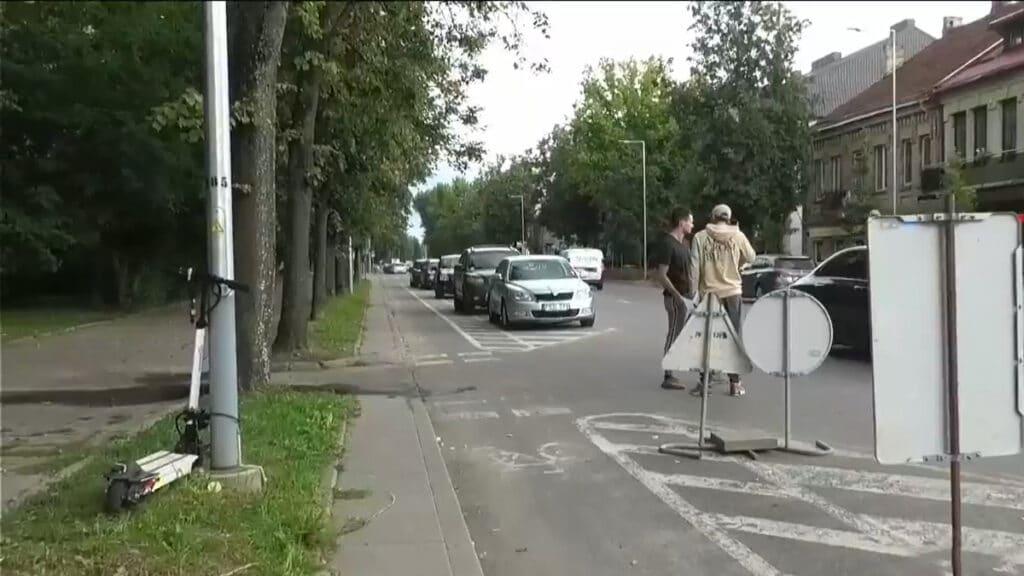Vilniuje partrenktos dvi mergaitės išgabentos į gydymo įstaigą