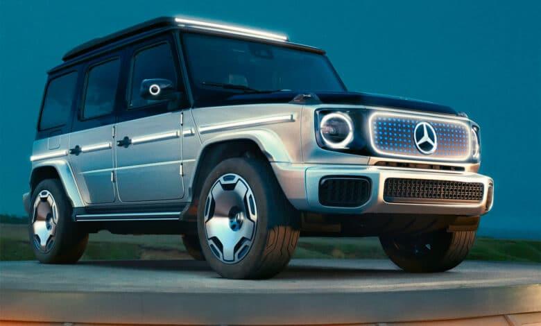 """""""Mercedes-Benz"""" pristatė elektrinį """"Gelendewagen"""""""
