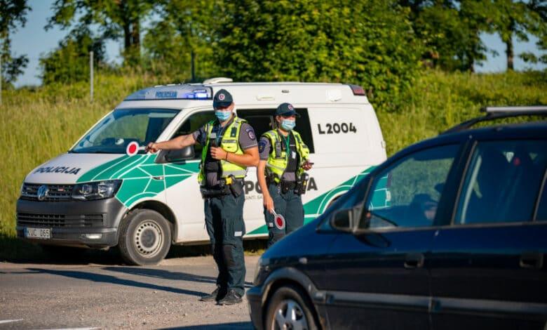 Klaipėdos pareigūnai nustatė net 14 neblaivių vairuotojų
