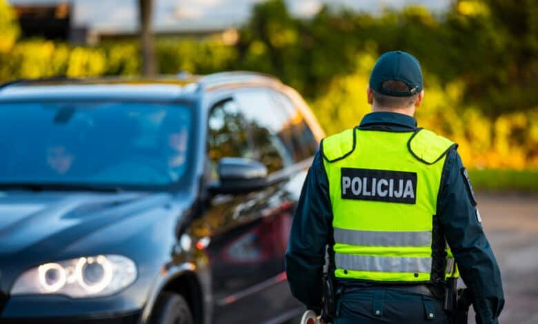 Klaipėdos pareigūnai per savaitę išaiškino 9 neblaivius vairuotojus