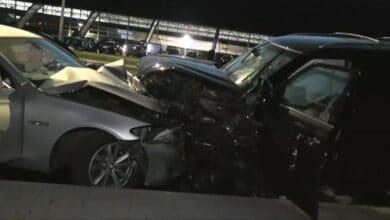 Neblaivus vairuotojas sukėlė masinę avarija Vilniuje