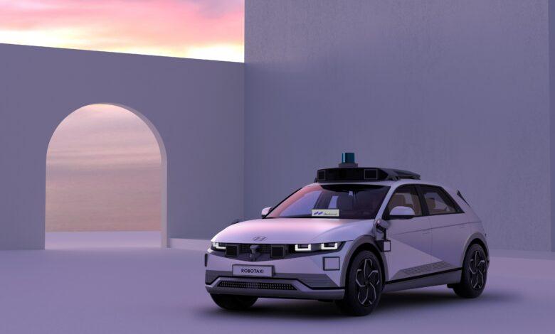 """Netrukus pasirodys """"Hyundai Ioniq 5"""" robotaksi"""