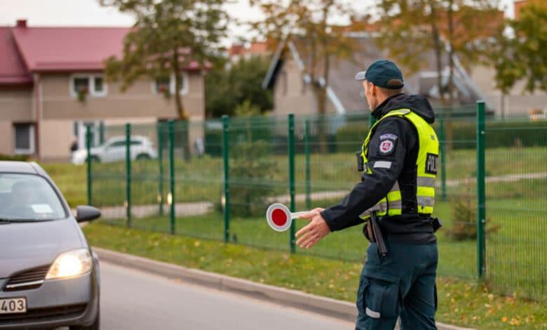Per praėjusią savaitę Klaipėdoje užfiksuota 16 neblaivių vairuotojų