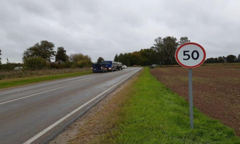 Pirmadienį užregistruoti 52 eismo įvykiai, žuvo 1 vairuotojas