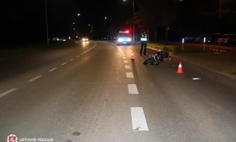 Rugsėjo 8 dieną užfiksuoti 62 eismo įvykiai, sužeista 20 žmonių