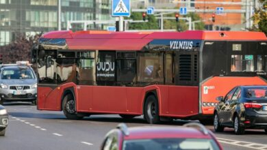 Rugsėjo 9-10 d. Vilniuje numatomi laikini eismo ribojimai