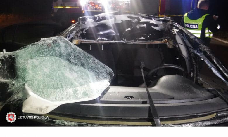 Trečiadienį užregistruoti 35 eismo įvykiai, sužeisti 6 žmonės