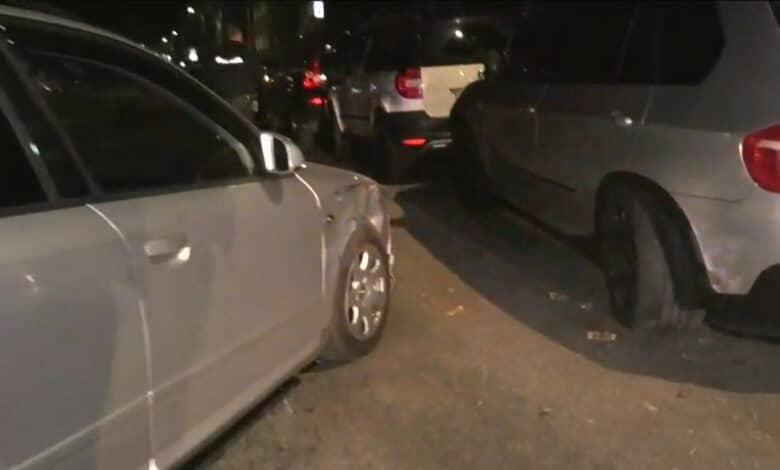 Avarija Vilniuje: girtas vairuotojas apgadinęs tris automobilius bandė pasišalinti iš įvykio vietos