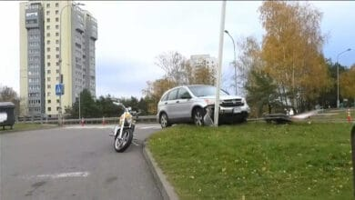 Avarija Vilniuje: žuvo automobilio vairuotoja