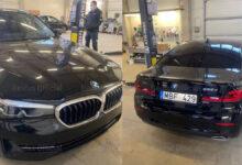 Naujas policijos nežymėtas automobilis? BMW G30 530D xDrive