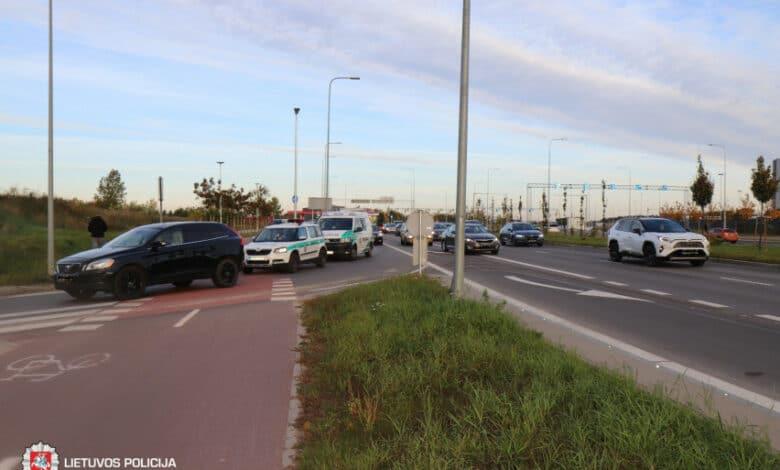 Pirmadienį užfiksuoti 47 eismo įvykiai, žuvo vienas žmogus