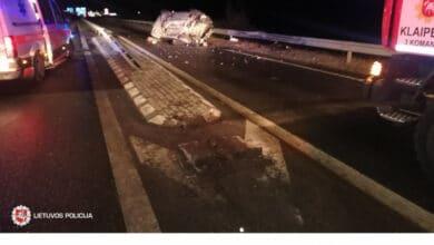 Savaitgalį užfiksuoti 207 eismo įvykiai, žuvo 2 žmonės