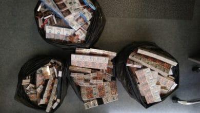 """Vilniaus pareigūnai """"Audi"""" automobilyje rado kontrabandinių rūkalų už 4353 eurų"""
