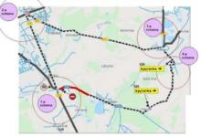 Vėlinių laikotarpiu keičiasi eismo organizavimo tvarka Joniškės ir Lėbartų kapinių zonoje